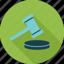 legal insurance, law, hammer