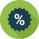 badge, campaign, discount, discount badge icon