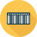 bar, bar code, barcode, code, product icon