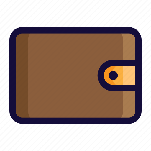 bussiness, color, finance, lineal, money, wallet icon