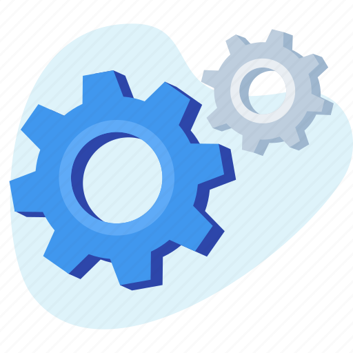 business, gear, setting, team, working icon