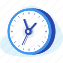 business, clock, savetime, time, watch icon