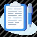 list, note, notepad, paper, pen, write