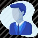 avatar, business, businessman, leader