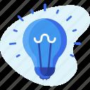 bulb, business, creative, idea, light