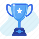 award, business, success, trophy, win, winner icon