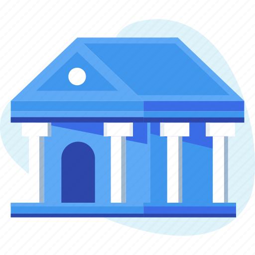bank, banking, building, business, finance, savings icon