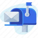 business, check, email, mail, receive, send icon