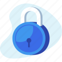 lock, password, safe, secure, security icon