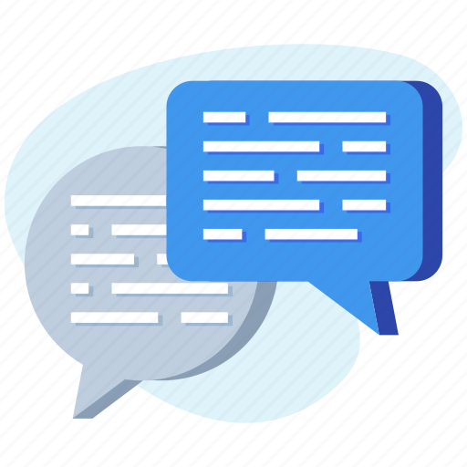 chat, chatting, conversation, message icon