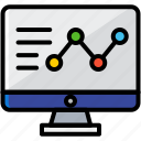 business, computer, document, finance, information icon