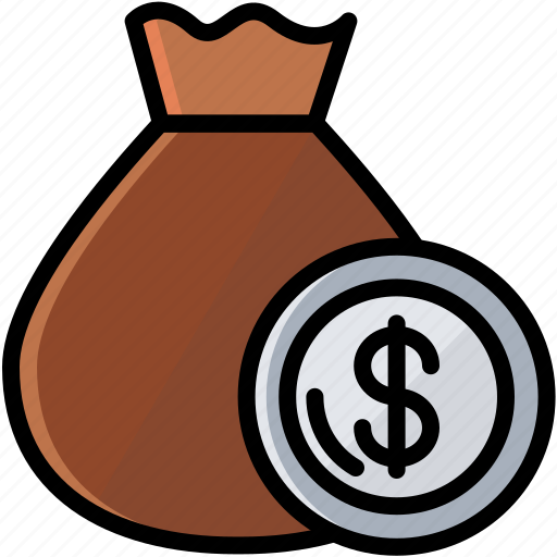 business, coin, finance, money, pocket icon