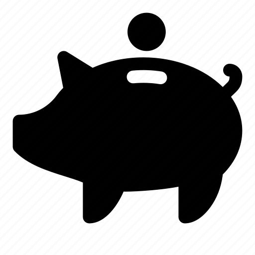 bank, coin, economy, finance, investment, money, piggy icon