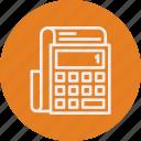 banking, business, calculator, finance icon