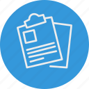banking, business, documents, finance icon