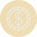 banking, business, dollar, finance icon