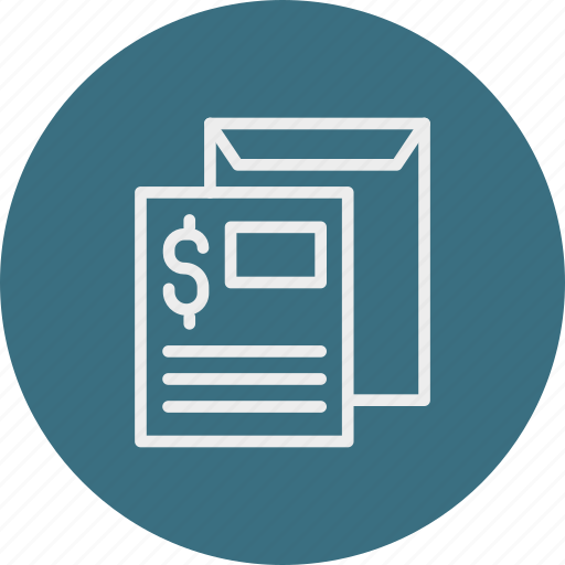 banking, business, finance, invoice icon