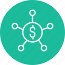 banking, business, finance, money, target icon