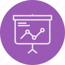 banking, business, finance, presentation icon
