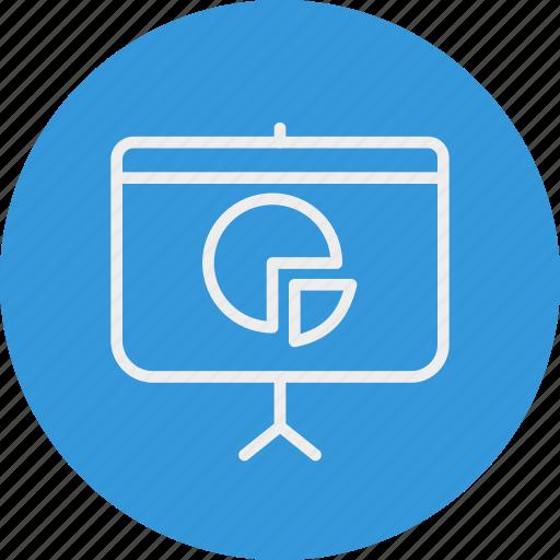banking, business, presentation icon