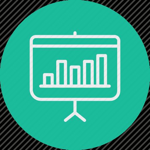 banking, business, finance, presentation icon