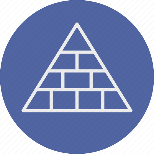 banking, business, finance, pyramid icon