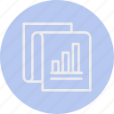 banking, business, finance, report icon