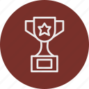 banking, business, finance, trophy icon
