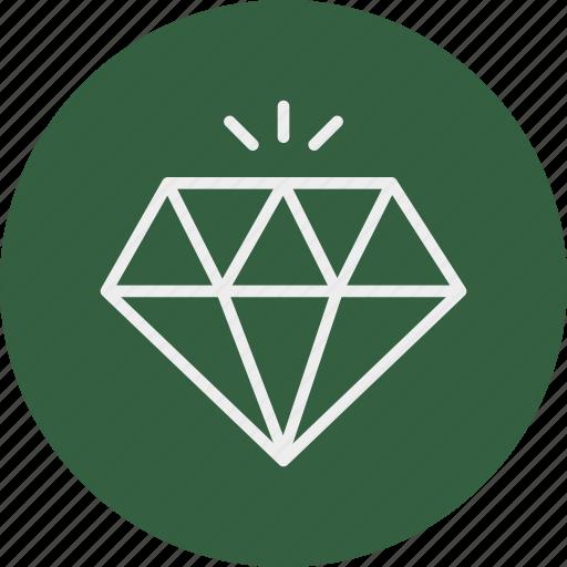 banking, business, diamond, finance icon