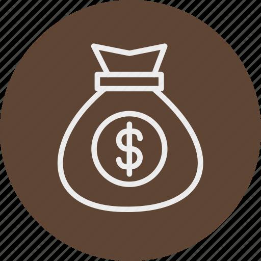 bagdoller, banking, business, finance, money icon