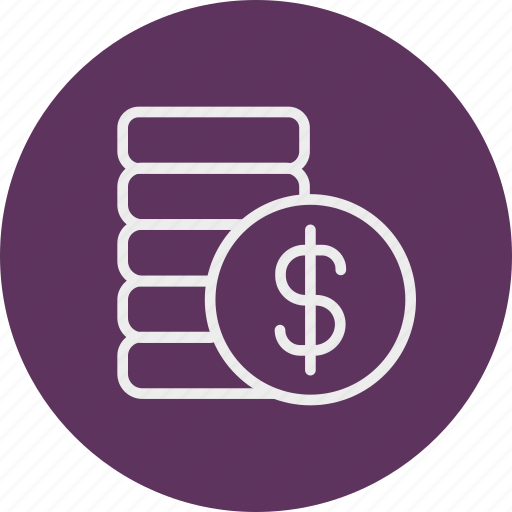 banking, business, finance, moneycoin icon