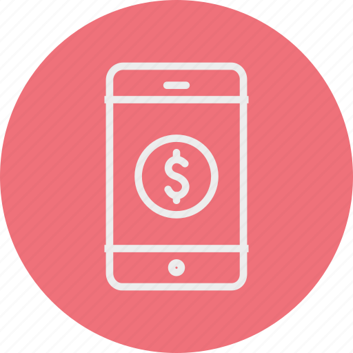 banking, business, finance, smartphone icon
