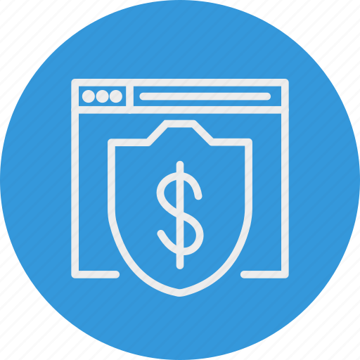 banking, business, doller, finance, security, website icon