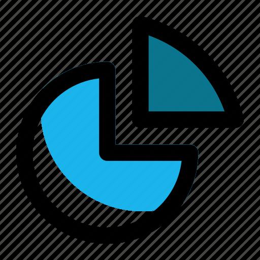 analytics, chart, diagram, finance, pie, report, statistics icon
