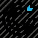 arrow, bullseye, dartboard, focus, goal, success, target icon