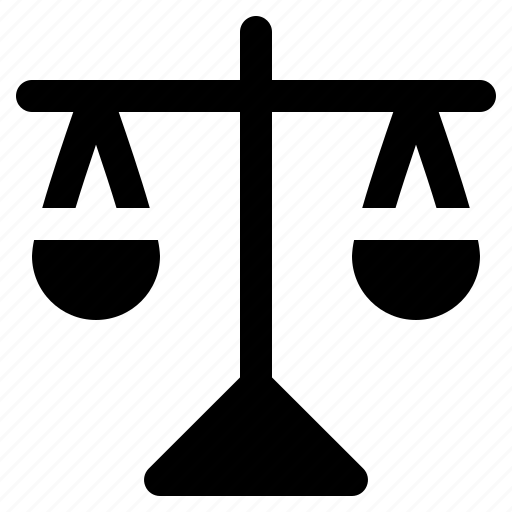 balance, court, justice, law, lawyer, legal, scale icon