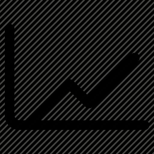 Chart, line, analytics, diagram, graph, report, statistics icon - Download on Iconfinder