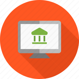 bank, card, credit, e-banking, e-commerce, online banking icon