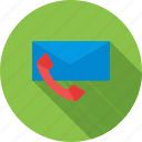contact, email, follow-up, mail, phone, web