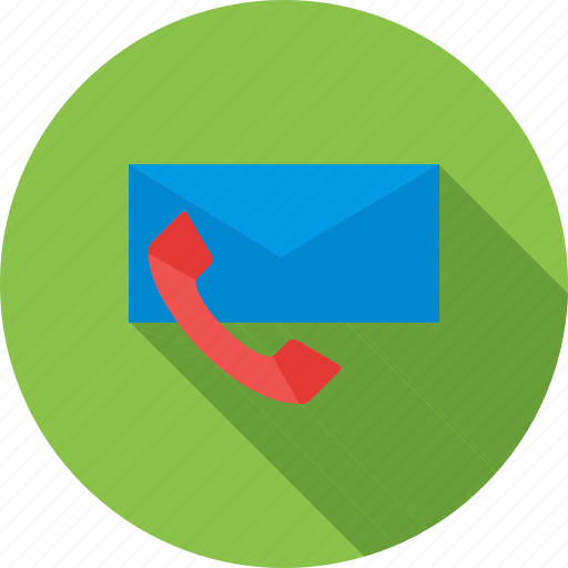 contact, email, follow-up, mail, phone, web icon