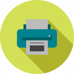computer, graphic, ink, laser, print, printer, sheets icon