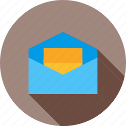 email, envelope, inbox, letter, mail, message, web icon