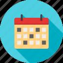 schedule, month, diary, year, calendar, day, organizer icon