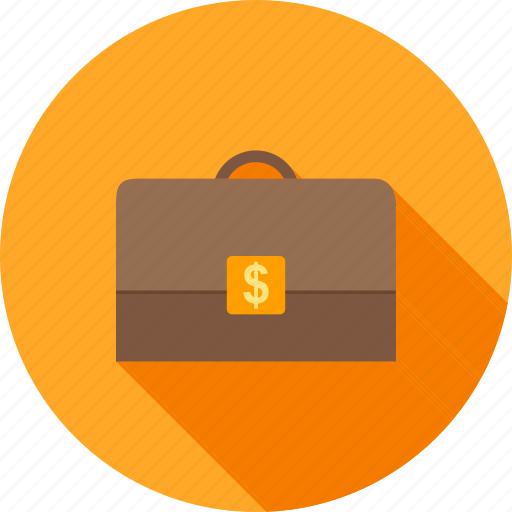 bank, briefcase, currency, million, money, suitcase, wealth icon