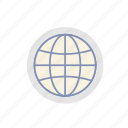 business, finance, global, globe, internet, online, technology icon