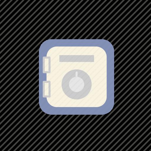 box, business, deposit, finance, safety, safety deposit box, saving icon