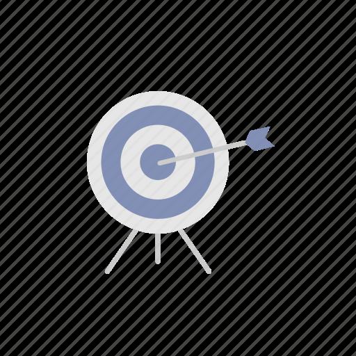 arrow, business, finance, goal, marketing, success, target icon