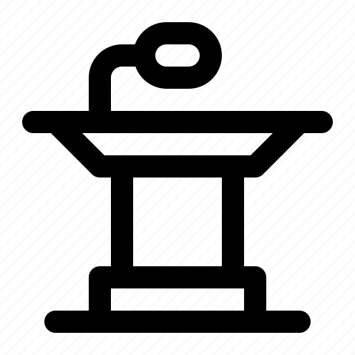 Keynote, podium, presentation, speaker, speech icon - Download on Iconfinder