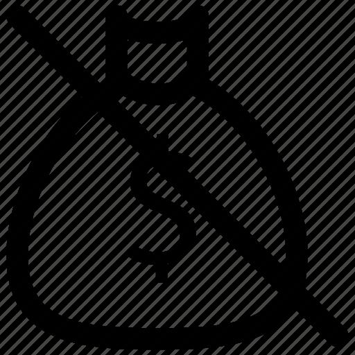 add, bank, block, cut, dollar, sign icon icon