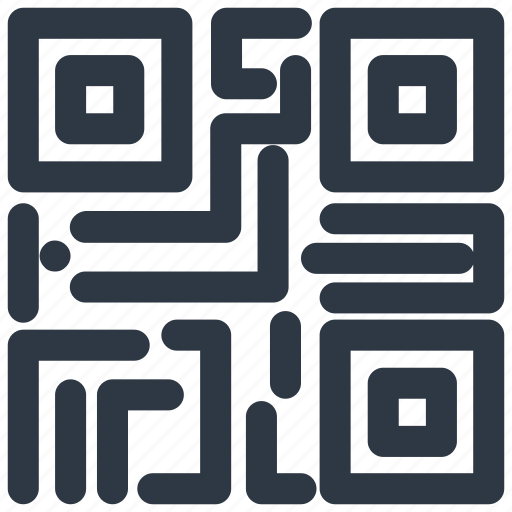 code, link, qr, qr-code, source icon icon